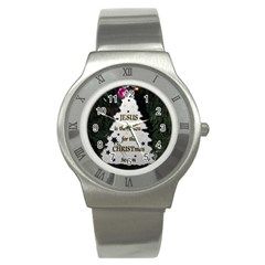Jesus Is The Reason Stainless Steel Watch (round)