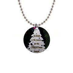 Jesus Is The Reason Mini Button Necklace