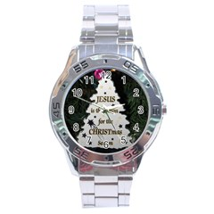 Jesus Is The Reason Stainless Steel Analogue Watch (round)