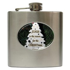 Jesus is the Reason Hip Flask