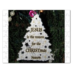 Jesus Is The Reason Jigsaw Puzzle (rectangle)