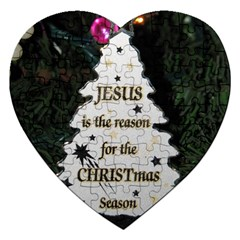 Jesus is the Reason Jigsaw Puzzle (Heart)