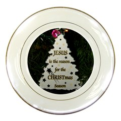 Jesus is the Reason Porcelain Display Plate