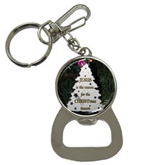 Jesus is the Reason Key Chain with Bottle Opener