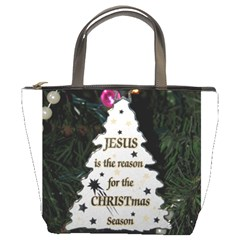 Jesus is the Reason Bucket Handbag