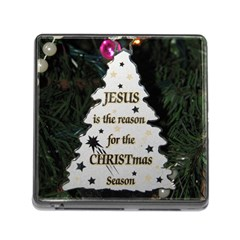 Jesus is the Reason Card Reader with Storage (Square)