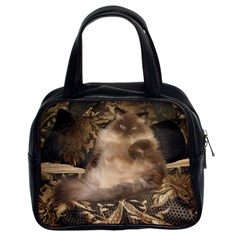 Royal Kitty Twin-sided Satched Handbag