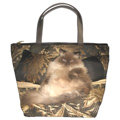 Royal Kitty Bucket Handbag
