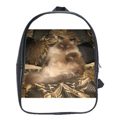 Royal Kitty Large School Backpack