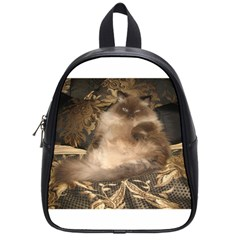Royal Kitty Small School Backpack