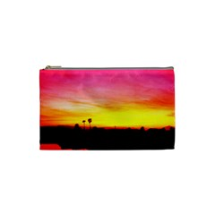 Pink Sunset Small Makeup Purse
