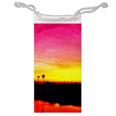 Pink Sunset Glasses Pouch