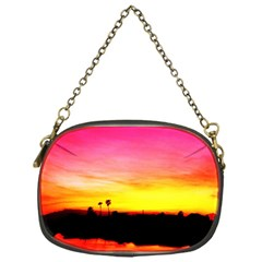 Pink Sunset Single Sided Evening Purse