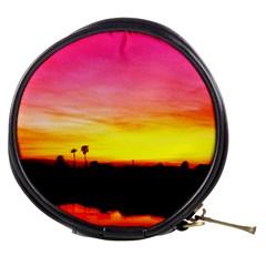 Pink Sunset Mini Makeup Case
