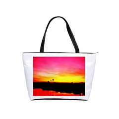 Pink Sunset Large Shoulder Bag