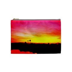 Pink Sunset Medium Makeup Purse