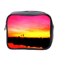 Pink Sunset Twin-sided Cosmetic Case