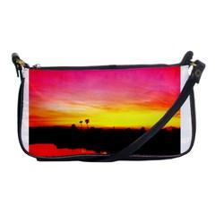 Pink Sunset Evening Bag