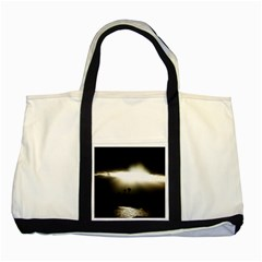 Sunset Glory Two Tone Tote Bag