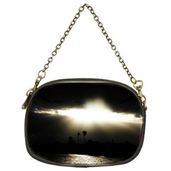 Sunset Glory Chain Purse (two Sides)