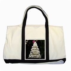 Jesus Is The Reason Two Toned Tote Bag