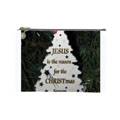 Jesus Is The Reason Large Makeup Purse