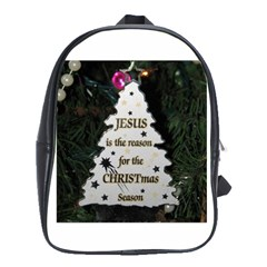 Jesus Is The Reason Large School Backpack