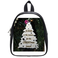 Jesus is the Reason Small School Backpack