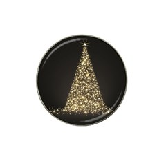 Christmas Tree Sparkle Jpg Golf Ball Marker (for Hat Clip)