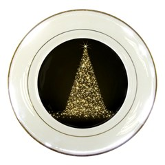 Christmas Tree Sparkle Jpg Porcelain Display Plate