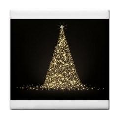 Christmas Tree Sparkle Jpg Face Towel