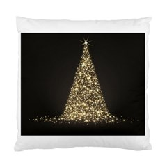 Christmas Tree Sparkle Jpg Twin-sided Cushion Case