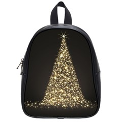 Christmas Tree Sparkle Jpg Small School Backpack
