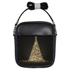 Christmas Tree Sparkle Jpg Kids'' Sling Bag