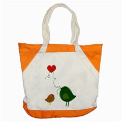 Love Birds Snap Tote Bag