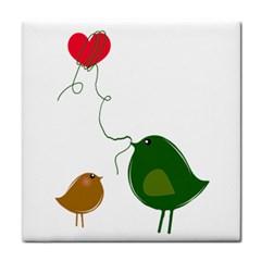 Love Birds Face Towel