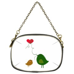 Love Birds Single Sided Evening Purse