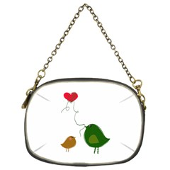 Love Birds Twin-sided Evening Purse