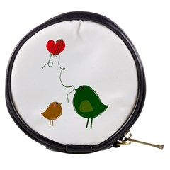 Love Birds Mini Makeup Case