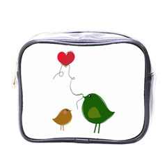 Love Birds Single Sided Cosmetic Case