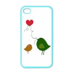 Love Birds Apple iPhone 4 Case (Color)
