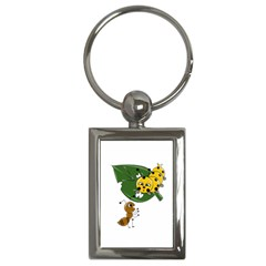 Animal World Key Chain (Rectangle)