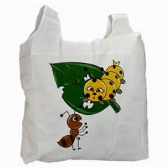 Animal World Single-sided Reusable Shopping Bag
