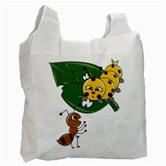 Animal World Twin Sided Reusable Shopping Bag