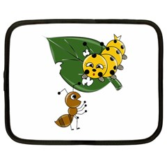 Animal World 13  Netbook Case