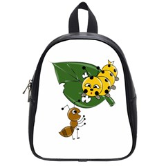Animal World Small School Backpack
