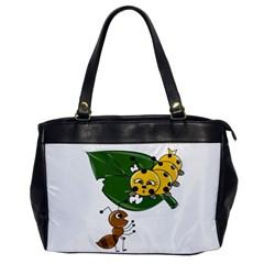 Animal World Single-sided Oversized Handbag
