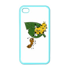 Animal World Apple Iphone 4 Case (color)