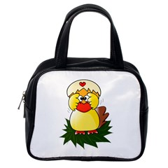 Coming Bird Single-sided Satchel Handbag