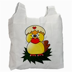 Coming Bird Single-sided Reusable Shopping Bag